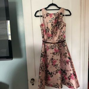 Ted Baker floral printed fit and flare